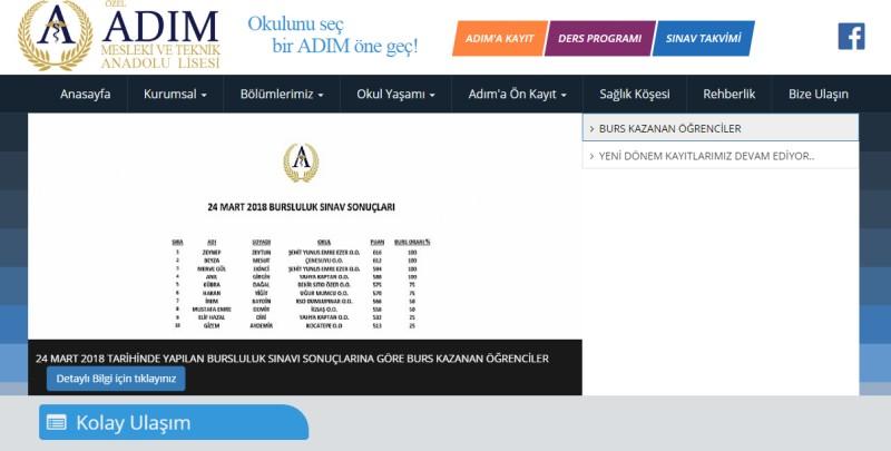 Adım Anadolu Sağlık Meslek Lisesi