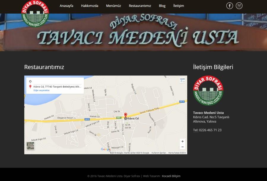 Diyar Sofrası - Tavacı Medeni Usta