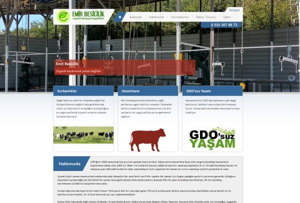 Emir Besicilik Organik Sığır Yetiştiriciliği