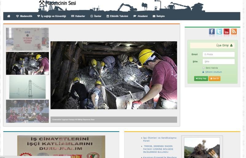 Madencinin Sesi Haber Portalı