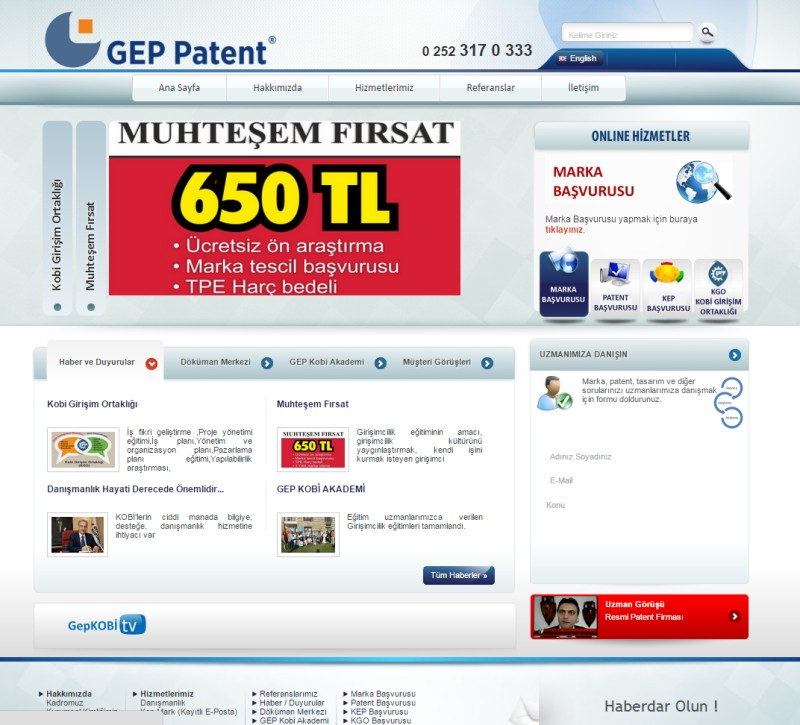 Gep Patent Danışmanlık - Bodrum