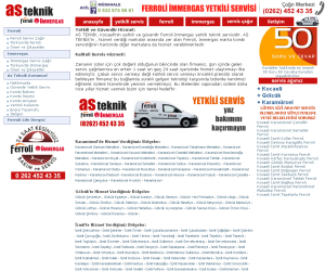 As Teknik Ferroli İmmergas Servisi