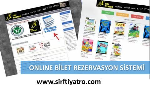 Sırf Tiyatro Online Bilet Rezervasyon Sistemi