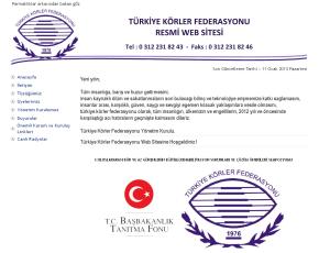 Türkiye Körler Federasyonu
