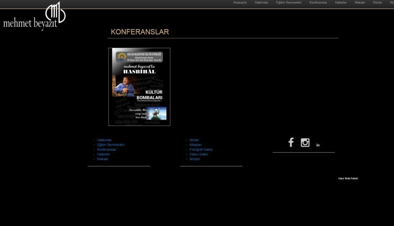 Mehmet Beyazıt Uzgaş Kişisel Web Sitesi