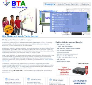 Bta Elektronik Akıllı Tahta Servisi