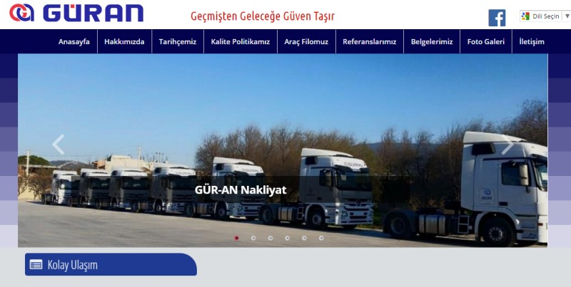 Güran Nakliyat Turizm Ltd. Şti.