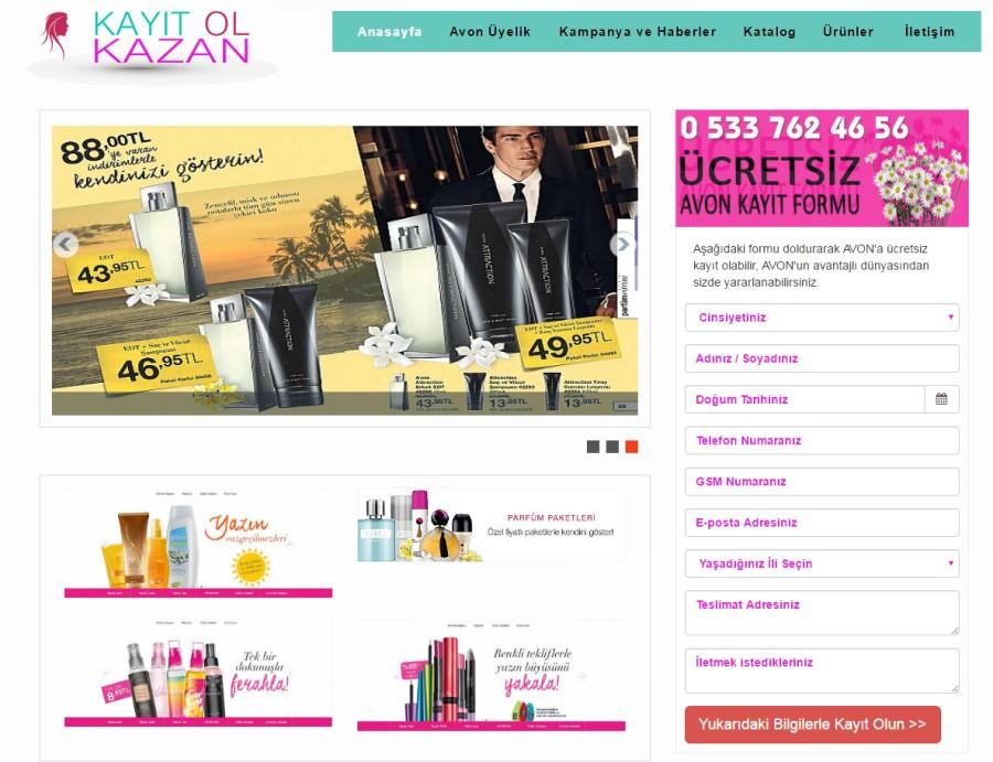 Kayıt Ol Kazan Kozmetik Satışı