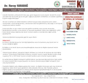 Avukat Koray Karadağ