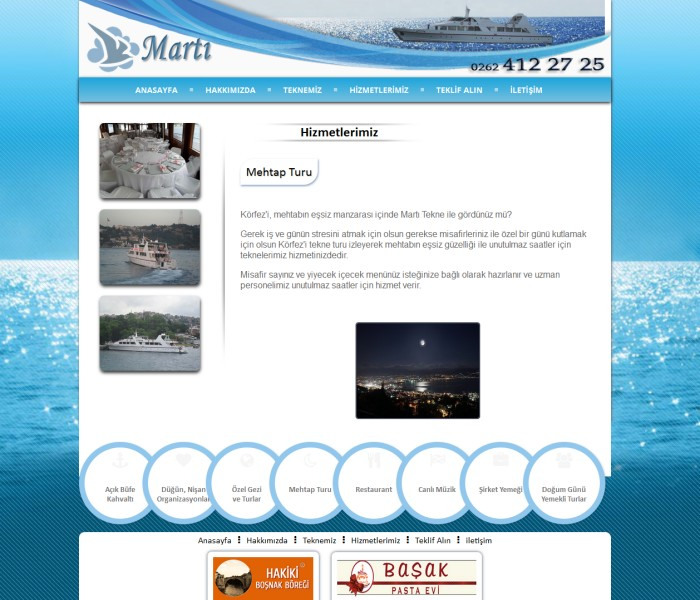 Martı Tekne Karamürsel Kocaeli Körfez Turu