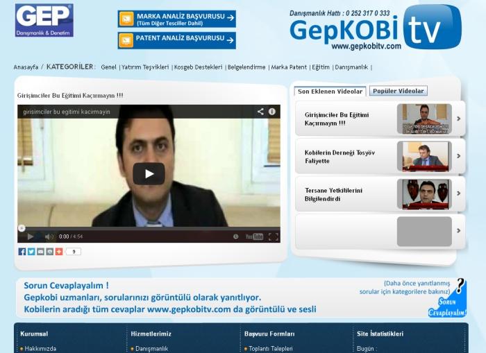 Gep Danışmanlık Proje Eğitim Hizmetleri Ltd. Şti.